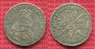 2/3 Taler 1693 Sachsen Albertinische Linie Sachsen Johann Georg IV. 2/3... 249,00 EUR  zzgl. 4,20 EUR Versand