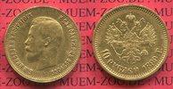 10 Rubel Goldmünze 1899 Russland Russia Ni...