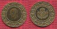 500 Kurush Goldmünze 1971 Türkei, Turkey K...