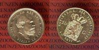 10 Gulden Goldmünze Kursmünze 1877 Niederl...