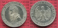 5 Mark Silbermünze 1927 Weimarer Republik ...