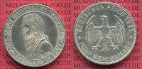 5 Mark Silbermünze 1927 Weimarer Republik ...
