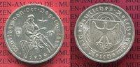 3 Mark Silber Gedenkmünze Weimarer Rep. 19...