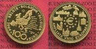 100 Euro Gold, 1/2 Unze 2004 Belgien, Belg...