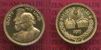 Goldmedaille 1915 Preußen Österreich Waffe...