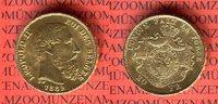 20 Francs Franken Goldmünze 1882 Belgien L...