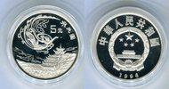 5 Yuan Silbermünze 1996 China Kunstschatz von Dunhuang PP in Kapsel  69,00 EUR  zzgl. 4,20 EUR Versand