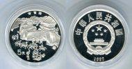 5 Yuan Silbermünze 1997 China Menschen beim Handel PP in Kapsel  259,00 EUR  zzgl. 4,20 EUR Versand