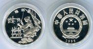 5 Yuan Silbermünze 1995 China Seidenspinnerin PP in Kapsel  59,00 EUR  zzgl. 4,20 EUR Versand