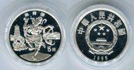 5 Yuan Silbermünze 1995 China Chinesische Tänze PP in Kapsel  59,00 EUR  zzgl. 4,20 EUR Versand