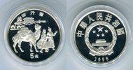 5 Yuan Silbermünze 1995 China Karawane auf der Seidenstraße PP in Kapse... 45,00 EUR  zzgl. 4,20 EUR Versand
