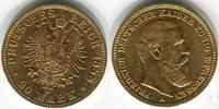 Deutsches Reich 20 Mark, Goldmünze Friedrich III. (Preussen) 1888A