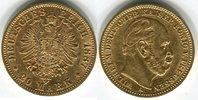 20 Mark, Goldmünze 1887A Deutsches Reich Wilhelm I. Deutscher Kaiser f.... 310,00 EUR kostenloser Versand