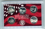Set 1,25 Dollar (5x0,25 Dollar) 2005 USA 50 State Quaters Set 2005 PP i... 19,00 EUR  zzgl. 4,20 EUR Versand