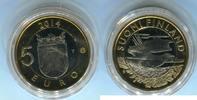 5 Euro 2014 Finnland Kuckuck Finnland PP in Kapsel  9,00 EUR  zzgl. 4,20 EUR Versand