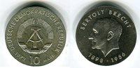 10 mark,silber Gedenkmünze 1973 DDR 75. Geburtstag von Bertolt Brecht v... 23,00 EUR  zzgl. 4,20 EUR Versand