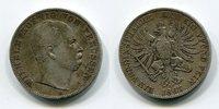 1 Taler Vereinstaler 1867 B Preußen Königreich Wilhelm sehr schön  79,00 EUR  zzgl. 4,20 EUR Versand