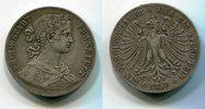Vereinstaler 1859 Frankfurt Stadt City Frauenkopf sehr schön  40,00 EUR  zzgl. 4,20 EUR Versand