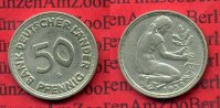 Bundesrepublik Deutschland, Germany FRG 50 Pfennig Bank Deutscher Lnder 1950 G 50 Pfennig 1950 G Bank Deutscher Lnder J. 379, sehr schn