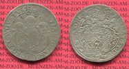 Sachsen Taler, Drei-Brder-Taler Sachsen Dreibrdertaler 1596 Christian II. Johann Georg I. und August