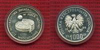 1000 Zloty Probe 1988 Polen, Poland Polen 1000 Zloty 1988, Probe, Fußba... 89,00 EUR  zzgl. 4,20 EUR Versand