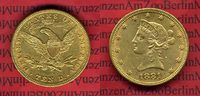 USA 10 Dollars Goldmünze Eagle Coronet Hea...