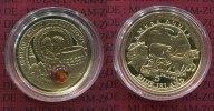 5 Dollars Gold mit Bernstein 2009 Niue Serie Bernsteinstrasse Amber Rou... 617,28 EUR