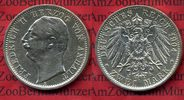 Anhalt 2 Mark Silber Anhalt 2 Mark 1904, Herzog Friedrich II. Silber, 