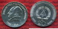 20 Mark Silbermünze DDR 1969 DDR GDR Eastern Germany DDR 20 Mark 1969 J... 60,00 EUR  zzgl. 4,20 EUR Versand