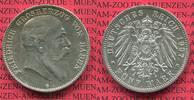5 Mark Silbermünze 1907 Baden, Kaiserreich 1871-1918 Baden 5 Mark 1907,... 70,00 EUR  zzgl. 4,20 EUR Versand