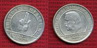 Weimarer Republik Deutsches Reich 5 Mark Silber Gedenkmünze Weimarer Republik 5 Mark Verfassung Schwurhand 1929 E  Silber