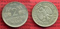 Bundesrepublik Deutschland 2 DM Weintrauben hren 2 DM 1951 F, Weintraube hren J. 386, Cu/Ni