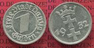1 Gulden Nickel 1932 Danzig Danzig, Freie Stadt, 1 Gulden Nickel 1932  ... 55,00 EUR  zzgl. 4,20 EUR Versand