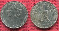 Weimarer Republik Deutsches Reich 5 Mark Silbermünze Weimarer Republik 5 Mark  1000 Jahre Stadt und Burg Meißen  1929 E  Silber