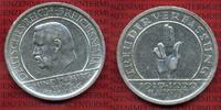 Weimarer Republik Deutsches Reich 5 Mark Weimarer Republik 5 Mark Verfassung Schwurhand 1929 A,  Silber