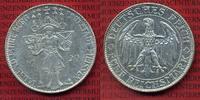 Weimarer Republik Deutsches Reich 5 Mark Silbermünze Weimarer Republik 5 Mark  Meißen  1929 E  Silber