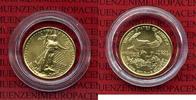 5 Dollars Goldmünze Golden Eagle 1/10 1999 USA USA 5 Dollars Gold Eagle... 195,00 EUR