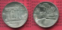Israel 10 Pfund Silbermnze Israel 10 Lirot 1968 20 Jahre Unabhngigkeit