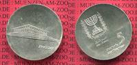 Israel 5 Pfund Silbermnze Commemorative Coin Israel 5 Pfund Silber 1965 17. Jahrestag Unabhngigkeit Knesset
