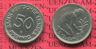 Bundesrepublik Deutschland, Germany FRG 50 Pfennig Bank Deutscher Lnder 1950 G 50 Pfennig 1950 G Bank Deutscher Lnder J. 379, 