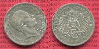 5 Mark Silbermünze 1908 Preußen Preußen 5 Mark 1908 A, Kursmünze, Wilhe... 65,00 EUR  zzgl. 4,20 EUR Versand