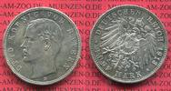5 Mark Silber Kursmünze 1913 Bayern, Bavaria Kingdom, German Empire Bay... 65,00 EUR  zzgl. 4,20 EUR Versand