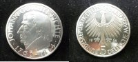 Bundesrepublik Deutschland, Germany FRG 5 DM Gedenkmünze Commemorative Coin BRD 5 DM 1964 J 150. Todestag Fichtes, Polierte Platte in Kapsel