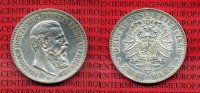 Preußen Prussia German Empire 2 Mark Silbe...