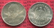 Weimarer Republik Deutsches Reich 3 Mark Silber Gedenkm&uuml;nze Commemorativ... 115,00 EUR 
