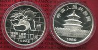 China Volksrepublik PRC 10 Yuan Panda Silber 1 Unze 1989 Stempelglanz* m... 69,00 EUR 