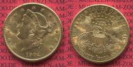 USA 20 Dollars Goldmünze Double Eagle 1904...