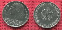Weimarer Republik Deutsches Reich 5 Mark Silber Gedenkmünze Weimarer Republik 5 Mark 200. Geburtstag von Lessing 1929 A  Silber, J. 336