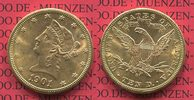 USA 10 Dollars Goldnmünze Eagle 1901 vz-pr...