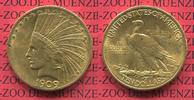 USA 10 Dollars Eagle Indian Head 1909 f. v...